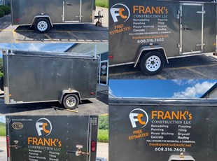 Custom Vehicle Lettering & Graphics | Construction | Madison, WI