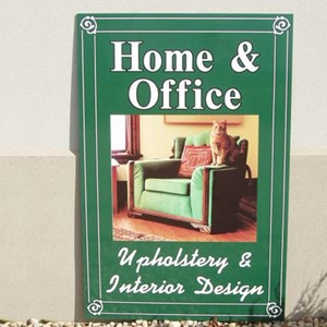 Home & Office building sign