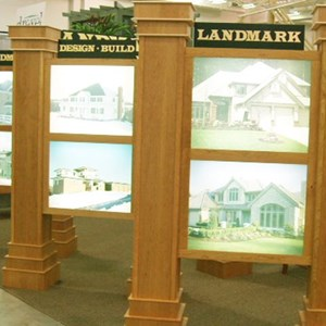 Landmark Builders Light Box Displays