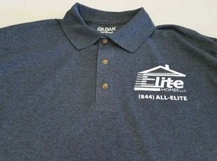 Custom designs polo style shirts