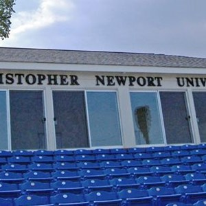 3-Dimensional Lettering - CNU Baseball Press Box
