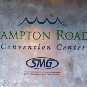 3-Dimensional Lettering - Hampton Roads Convention Center, Hampton,VA
