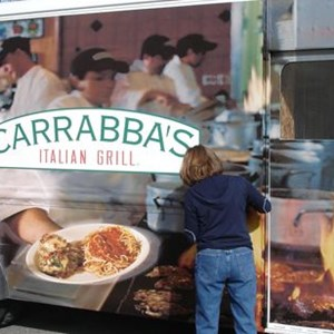Vehicle Wrap - Carrabba's in process