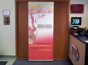 Full Color Retractable Banner Stand