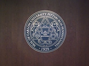 Routed University Seal
