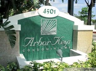 Condominium Monument Sign