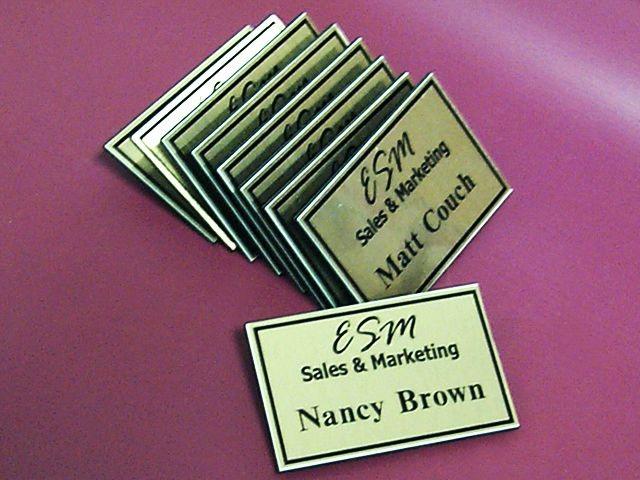 Name badges manufacturer name badge magnetic locker tags custom magnetic name tags solutioingenieria Choice Image