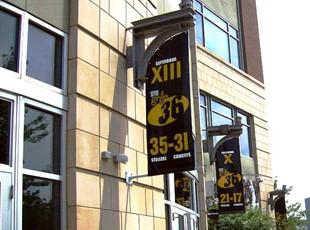 Custom Shaped Boulevard Banners
