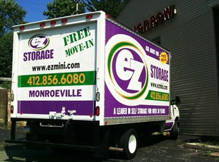 Large Truck Graphics & Lettering