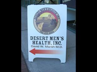 Desert Men's Health A-Frame
