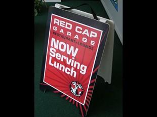 Red Cap Restaurant A-Frame