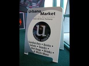 Urbana Market A-Frame