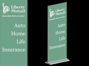 Liberty Mutual Banner Stand