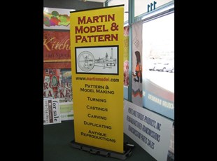 36 wide retractable banner stand
