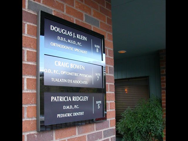 Custom Directory Signs Signs By Tomorrow Of Portland
