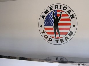 Indoor Martial Arts Academy Wall Graphics