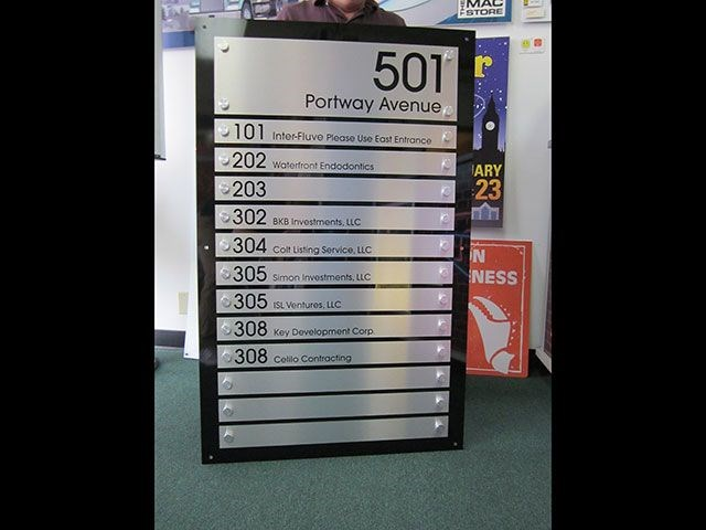 Custom Indoor Directory Signs Signs By Tomorrow Of Portland Directory Signage Systems