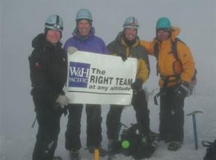 Banner at Mt Hood Summit