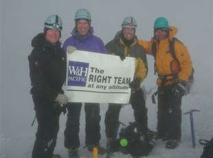 Banner at Mt Hood Summit