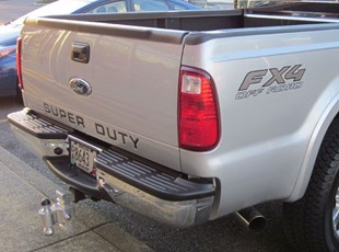 custom truck graphics - side and rear