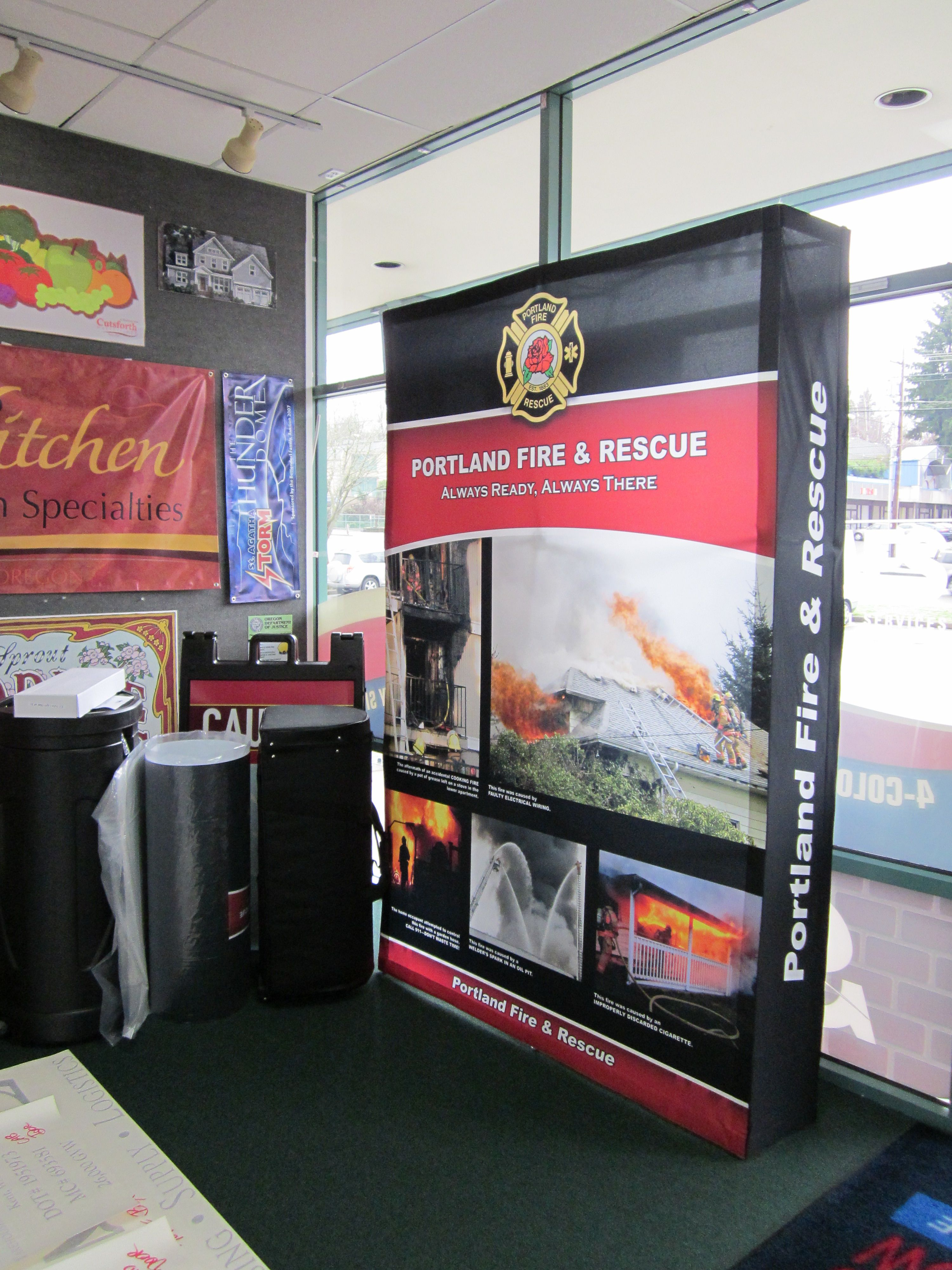 Exhibition Booth Signage : Custom trade show booth signage signs by tomorrow of