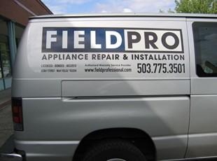 Field Pro Van Graphics