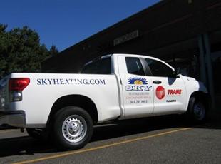 Sky Heating Truck PSL