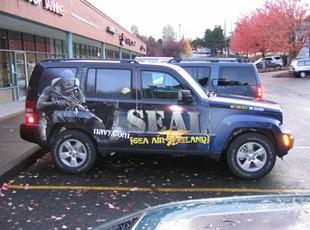 NAVY Jeep Liberty Wrap