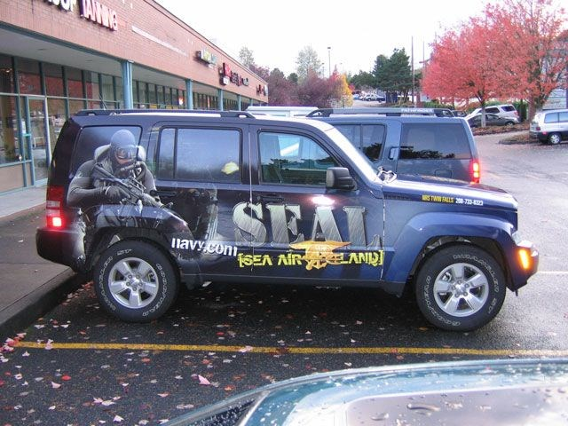 NAVY Jeep Liberty Wrap