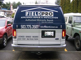 Field Pro Vehicle Wrap