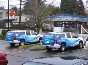 Intel Fleet Partial Wraps