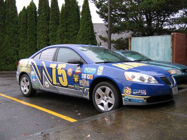 NAVY car wrap