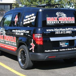 Large Format Vehicle Graphics