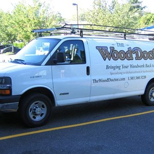 Van Graphics - The Wood Doctor