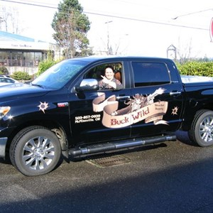 Vehicle Graphics - Buck Wild Shooter Supply