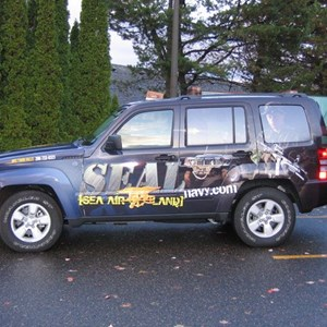 Vehicle Wrap (Jeep Liberty) - US NAVY