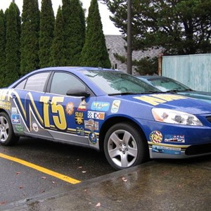 Vehicle Wrap (sedan) - US NAVY