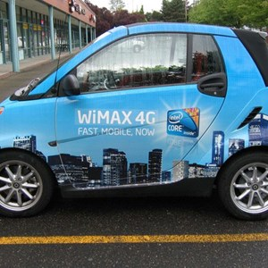 Vehicle Wrap - Intel WiMax Smart Cars