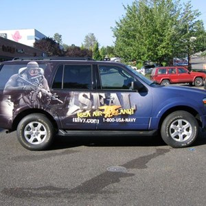 Vehicle Wrap - SUV (US NAVY)