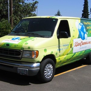 Vehicle Wraps - 5 Star Cleaners