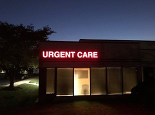 Channel Letters - Urgent Care Center