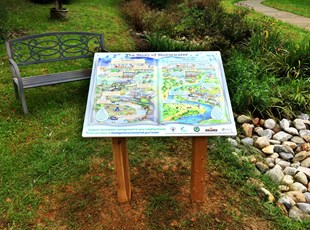 Interpretive Display Sign for Montgomery County