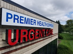 Lightbox and Channel Letters for Premier Healthcare
