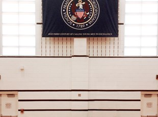 Fabric Printed Banner for Georgetown Preparatory School in Washington, DC