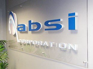 Acrylic with 3D logo for ABSI Corporation