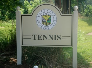 Post and Panel for Bethesda Country Club in Bethesda, MD
