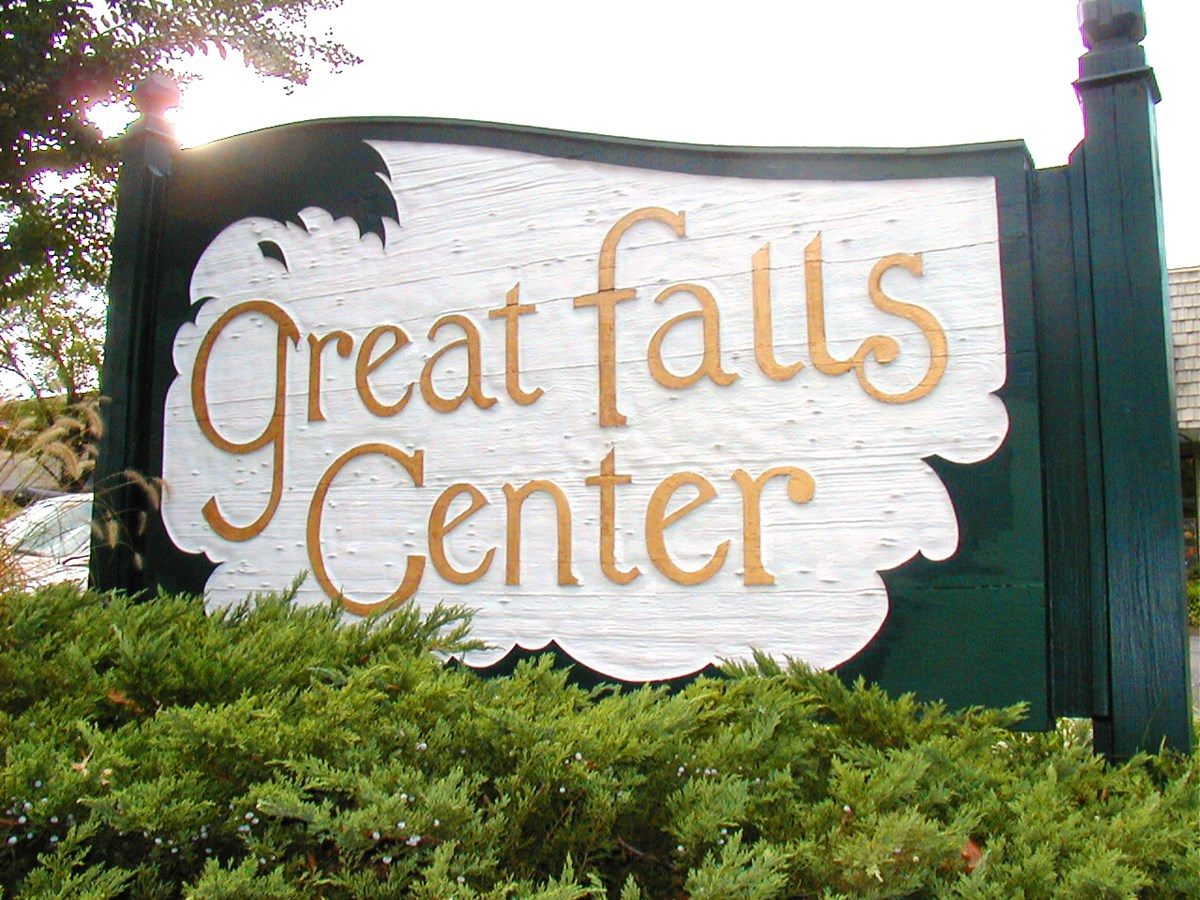 Post & Panel for Great Falls Center in Rockville, MD
