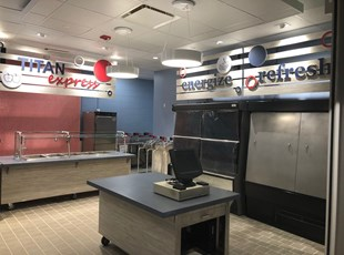 Indoor Dimensional Lettering   XGD Interior Signage, Displays and Branding   Restaurant   Virginia