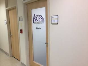 Printed Frosted Vinyl for Montgomery College in Rockville, MD