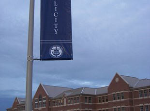 Pole Banners for Good Council HS